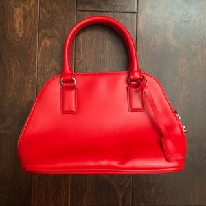 Express small red purse